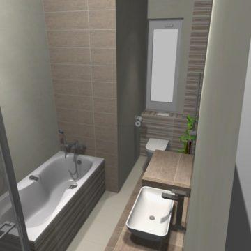 mała łazienka dla seniora