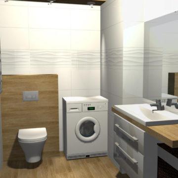 Projekty łazienek Galeria Wnętrz Cerpol