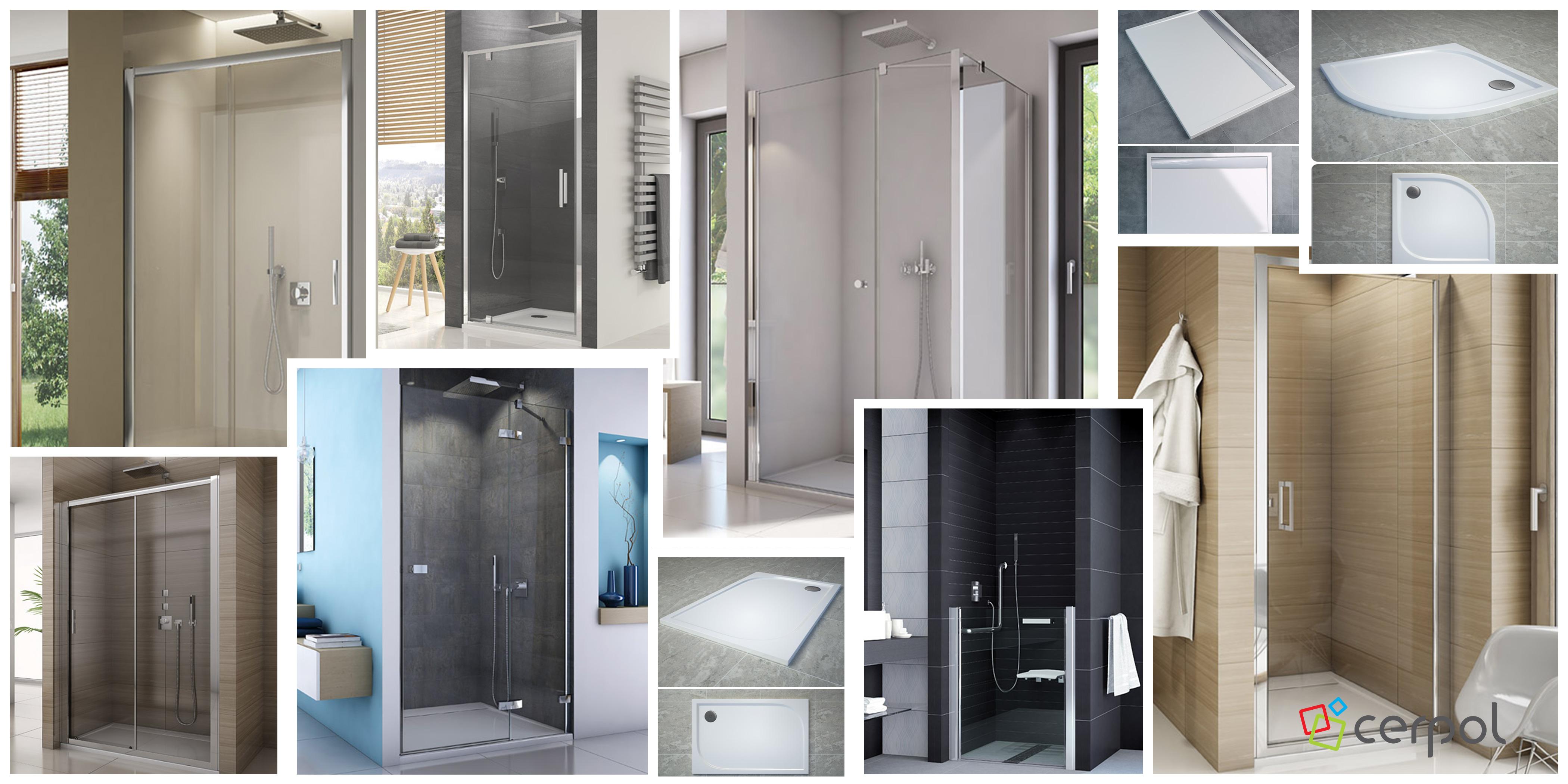 kabiny prysznicowe brodzik